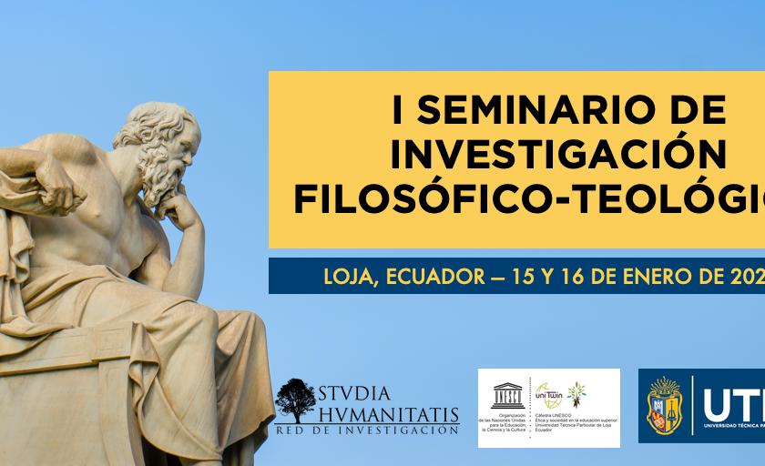 I SEMINARIO DE INVESTIGACIÓN FILOSÓFICO-TEOLÓGICO
